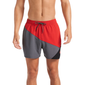 "Nike Swim Logo Jackknife 5"" Volley Shorts Heren, university red"